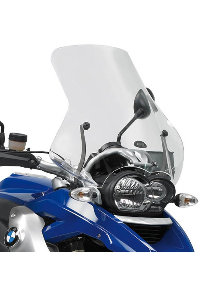 transparent screeen givi bmw r 1200 gs 04 12 fitting kit included