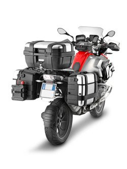 Pair of side hardbags GIVI Trekker TRK46N [right]/ TRK33N [left]