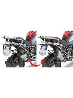 Rapid release side-case holder GIVI for Monokey® cases BMW R 1200 GS Adventure [14-], R 1250 GS [19-20],R 1250 GS Adventure [19-20]