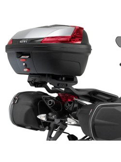 Rear rack GIVI for Monokey® or Monolock® top-case Aprilia Shiver 750/ ABS [10-16], 900 ABS [10 > 20]
