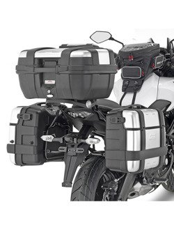 Specific pannier holder GIVI for Monokey®, Retro fit side-cases Kawasaki Versys 650 [15-18]