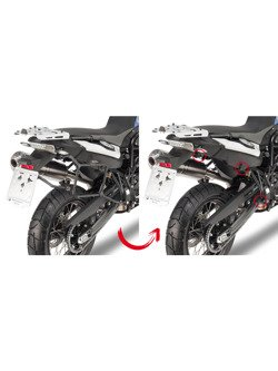 Specific rapid release side case holder for MONOKEY® cases for  BMW F650 GS /  F 700 GS/ F800 GS (08 -)