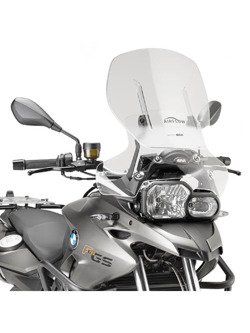 Specific sliding wind-screen Airflow Givi for  BMW F 700 GS (13 > 17)
