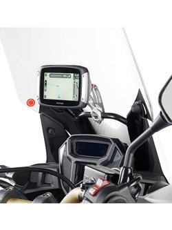 Universal anodized aluminium support GIVI to install GPS and smartphone holders