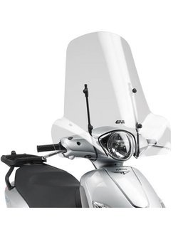 Fitting kit GIVI for 107A screen Piaggio Fly 50-100-125-150 (04 > 17)