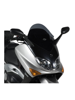 Low sports screen gloss black Givi for Yamaha T-MAX 500 (01 > 07)