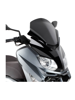 Low sports screen gloss black Givi for Yamaha X-MAX 125-250 (10 > 13)