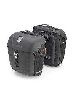 Pair of thermoformed Multilock side bags, 18 ltr - Metro-T Range