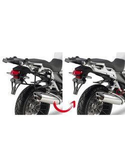 Rapid release side-case holder GIVI for Monokey® Honda Crosstourer 1200/ Crosstourer 1200 DCT [12-18]