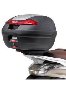 Rear rack GIVI for Monolock® top cases Piaggio Beverly 125IE 125IE-300IE-350 (10-19)