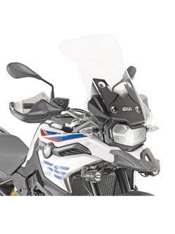 Specific clear smoked GIVI BMW  F 750 GS (18-19) [fitting kit included]