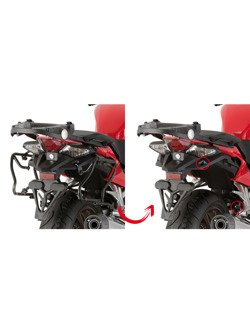 Specific rapid release side case holder for V35/ V37 MONOKEY® SIDE cases Honda VFR 800 F (14 -)