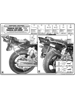 Specific rear rack for MONOKEY® or MONOLOCK® top case Yamaha XJR 1300 04 > 06
