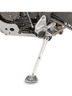 Support to widen the surface support area of the original side stand Givi Yamaha Teneré 700 (19)