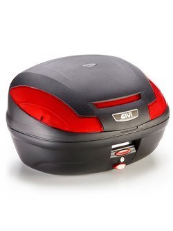 Top case GIVI Monolock®E470 Simply III [universal mounting plate included; volume: 47 ltr]